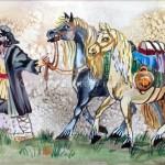 Cygan z końmi