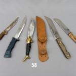 Nóż i pochwa